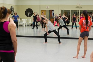 Gail teaching Balletone at Dance+23
