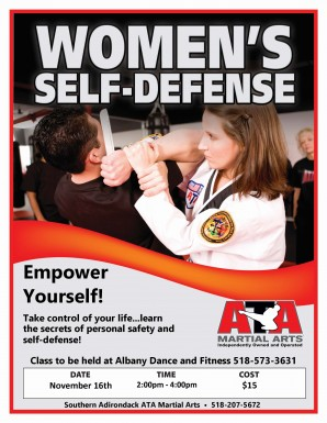 wormens self defense workshop