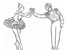 Drawing of NYCB Dancers